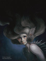 Portrait of a Monster Girl: The Mermaid by SBuzzard