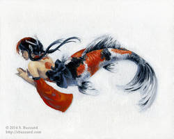 Koi Mermaid by SBuzzard