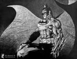 The Dark Knight by SBuzzard