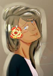 Yellow Rose by Veetamine