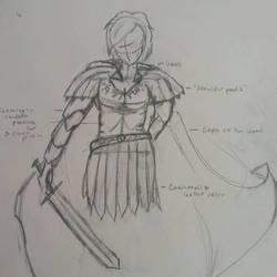 Artiste's second suit of armor by JadeCrossroads