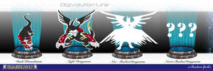 Dark Komodomon Digivolution by xShadowSpellx