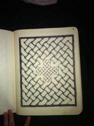 celtic knot work by leathercraft1990