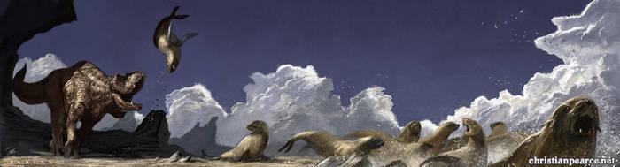 Beach Bully by ChristianPearce