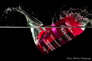 Kerastase Product Splash by cRomoZone