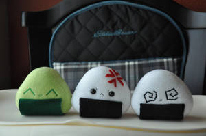 Extra Onigiri Expressions by Love-Who