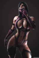 Mortal Kombat 9 - Mileena[from Patreon banner] by ShizzyZzZzZzART