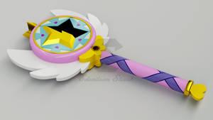 Star Butterfly Wand - 3D Model by Edy081