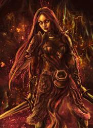 Warrior by Ashiria