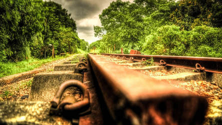 On the Rails by GorgeousWreck