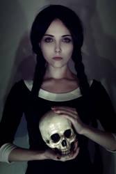 Wednesday Addams by Helen-Stifler