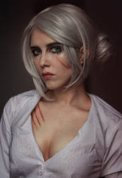 Ciri makeup by Helen-Stifler