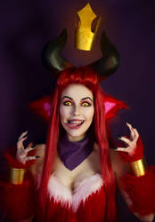 Little Devil Teemo cosplay by Helen-Stifler