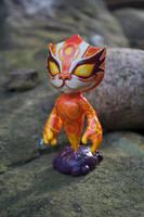 Pandaren fire spirit by Blindfaith-boo