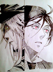 Undertaker and Sebastian ~ Cry by RAWRHONEY