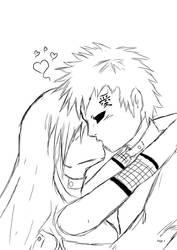 Gaaino love line art by Gaaragirlshirinaj