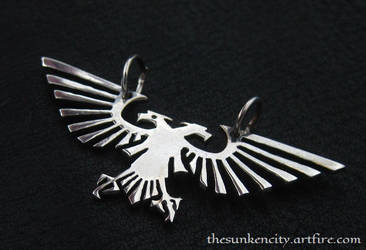 Silver Imperial Eagle pendant by Sulislaw