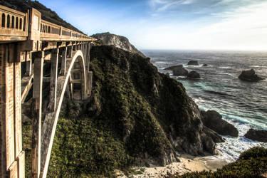 bridge to big sur [print] by inflight