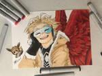 My Hero Academia: Hawks by ArtbyBridget
