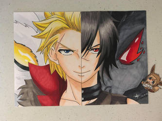 Fairy Tail: Sting Eucliffe and Rogue Cheney by ArtbyBridget
