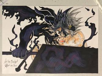 Black Clover: Asta by ArtbyBridget