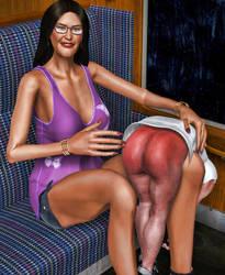Spankie's Aunt by suneeeel