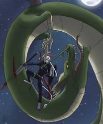 Dragon slayer by Snowgriffen