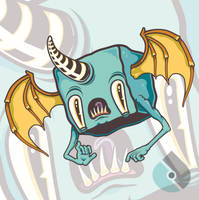 Socialmedia Sorrow Bat by socallow