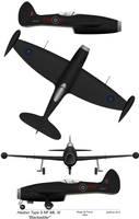 Heston Blackadder night fighter - RAF by perttime