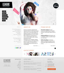 League design agency by guitarsimo80