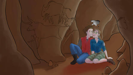 Cave Paintings by Dinosaurolophus