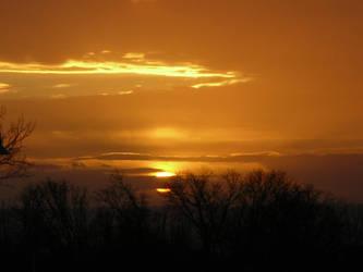 Evening Sunset by ZadokEngel