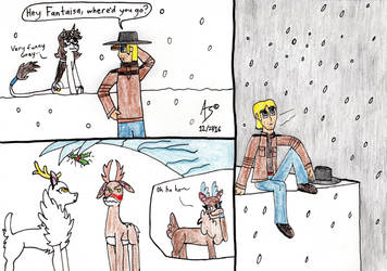 Christmas Draw Stuff 2016 by ZadokEngel