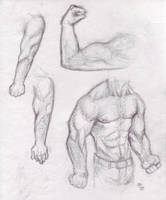 body study1 by H-M-M