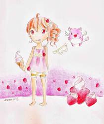 Strawberry cream by candyleaf