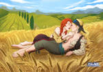 Heileen - With Marie At The Wheat Field by mandygirl78