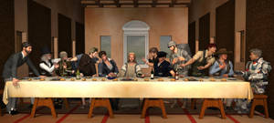 Last supper - Version 1 by Catweazle01