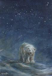 aceo (afa) polarbear by kailavmp