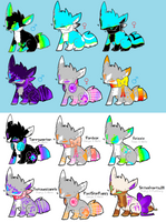 Fox Breedables! (4 slots left!) by FlashsAdopts