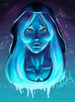 Blue Diamond by Emel-Art