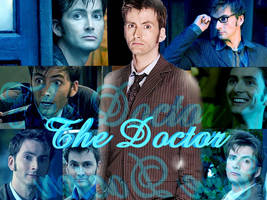 The Tenth Doctor by MsWillow999