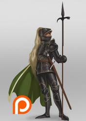 Titan Guard Captain Design by z4m97