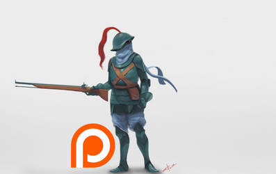 4th Alliance Soldier (+PROCESS VIDEO) by z4m97