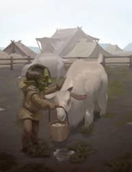 Goblin Herder by z4m97