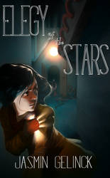 Elegy of the Stars book cover (commission) by z4m97