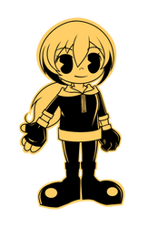 Toon!Kagami (Inspired by BATIM) by VanillaRinChii