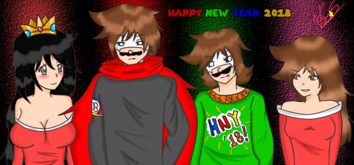 [New Team Keny] HNY 2018! by KenysuStar
