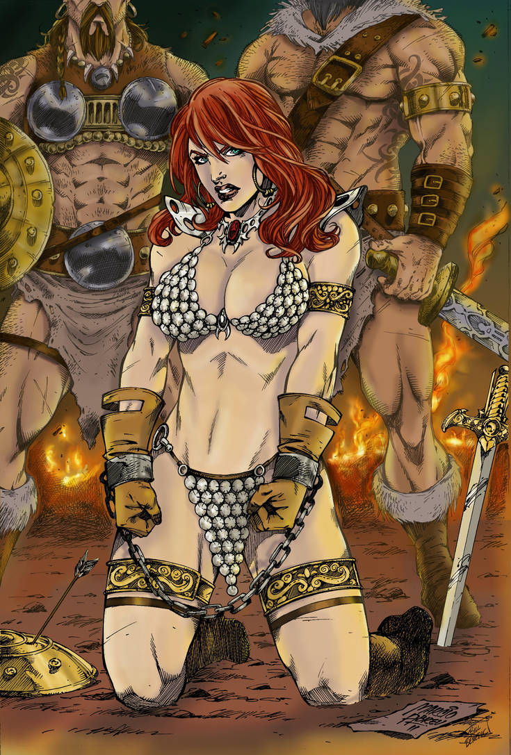 Red Sonja_ MarcioAbreu_my colors by MrFixit741