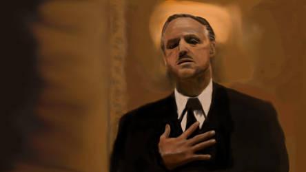 Vito Corleone by silnin
