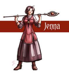 Adult Jenna by Sora-G-Silverwind